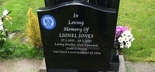 Lawn Headstone Memorials Tuxford, Nottingham, Nottinghamshire