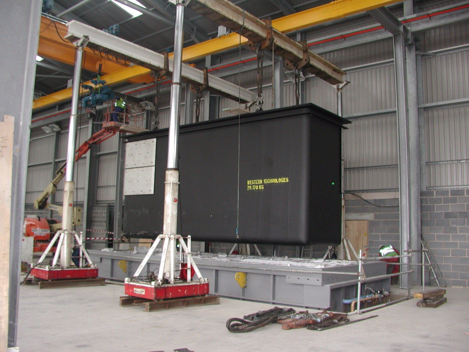 Factory Relocation Lifting