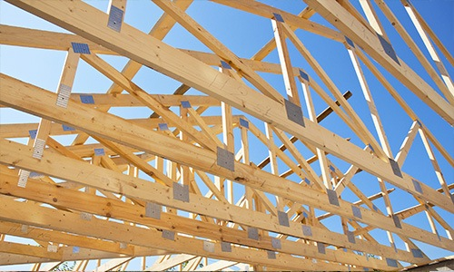 pre-fabricated timber trusses