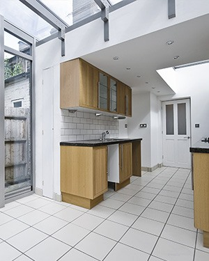 kitchen extension on residential dwellings