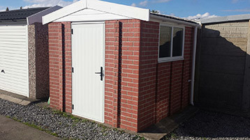 sectional garages