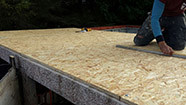 timber roof liner option