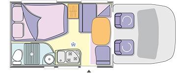 chausson motorhome layout