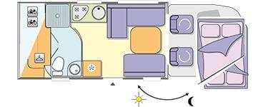 chausson motorhome internal layout