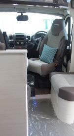 motorhome drivers seat