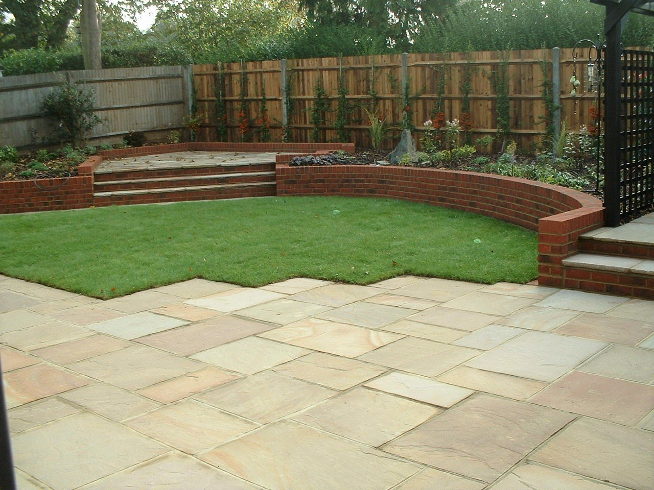 Back Garden - Sevenoaks After installation