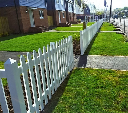 Picket fencing Kent