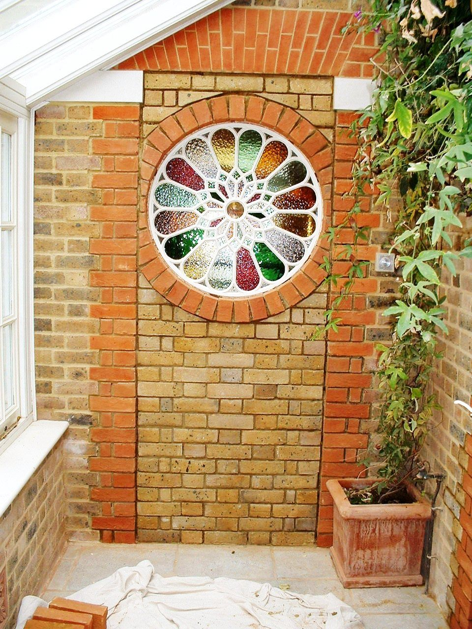 Landscaping in Kent - Window in Brickwork