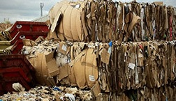 haulage of paper waste