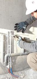 repairing domestic heating systems