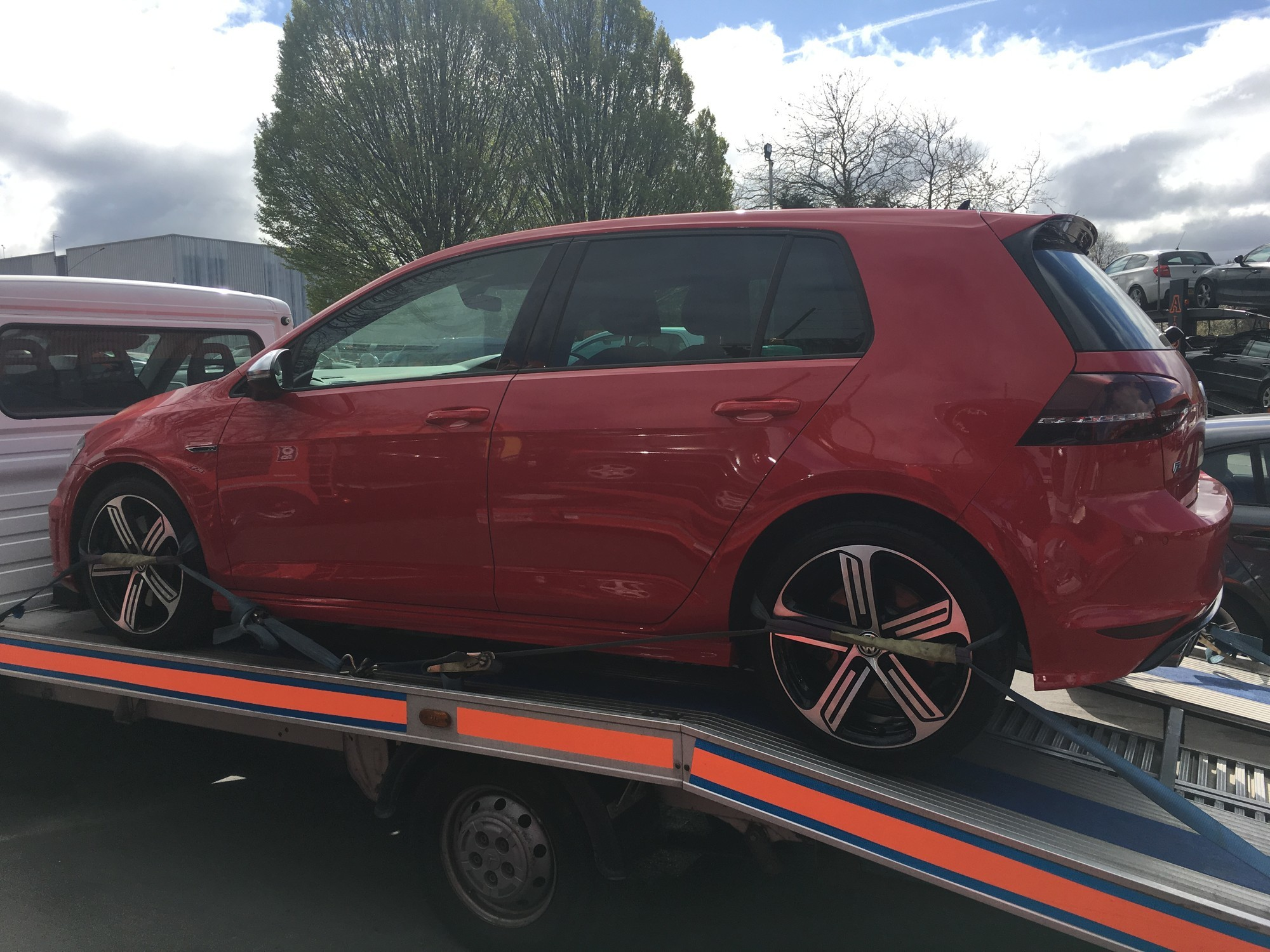 Golf R Collected from Preston and Delivered