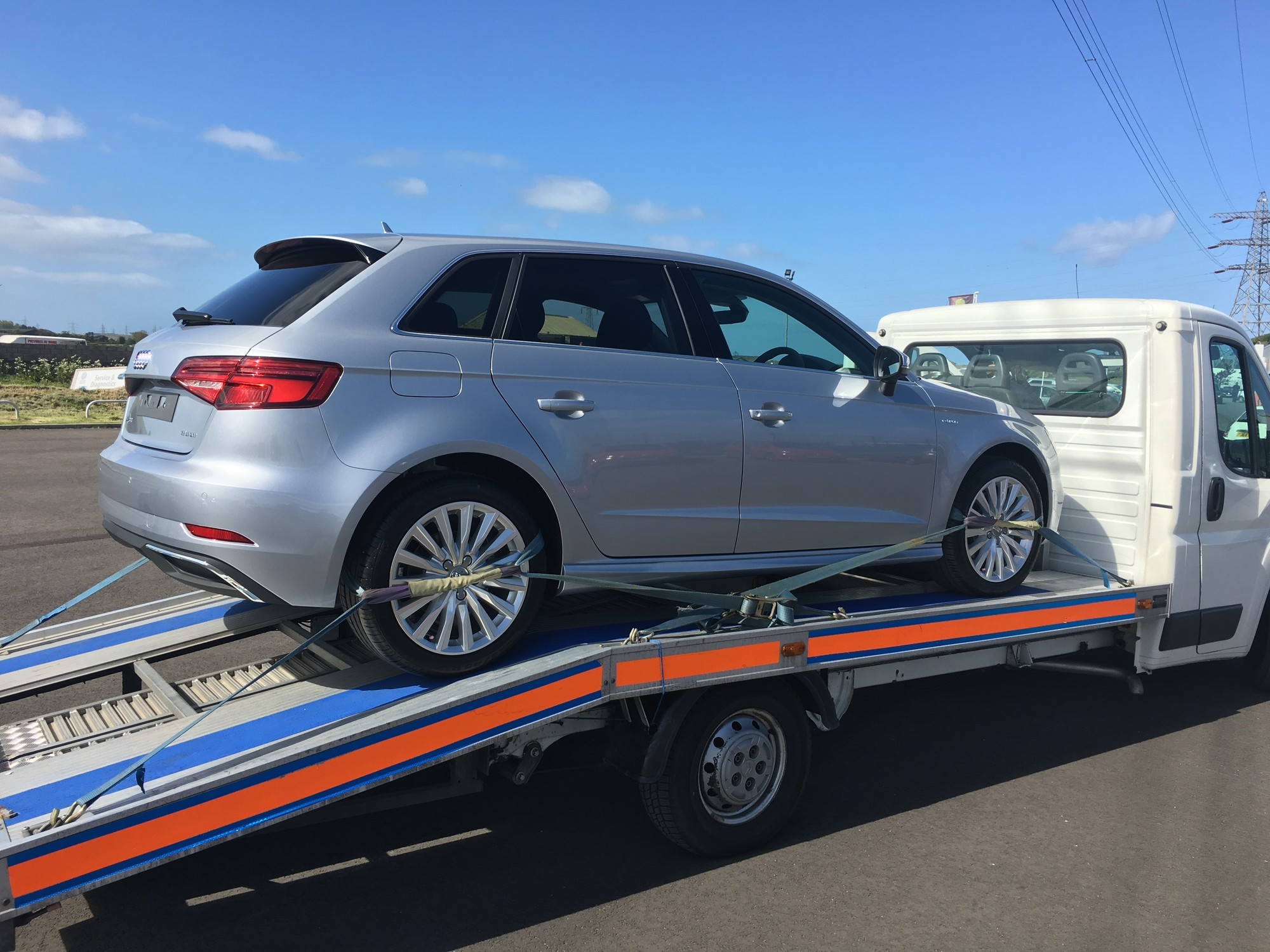 Brand New Unregistered Audi A3 Delivery