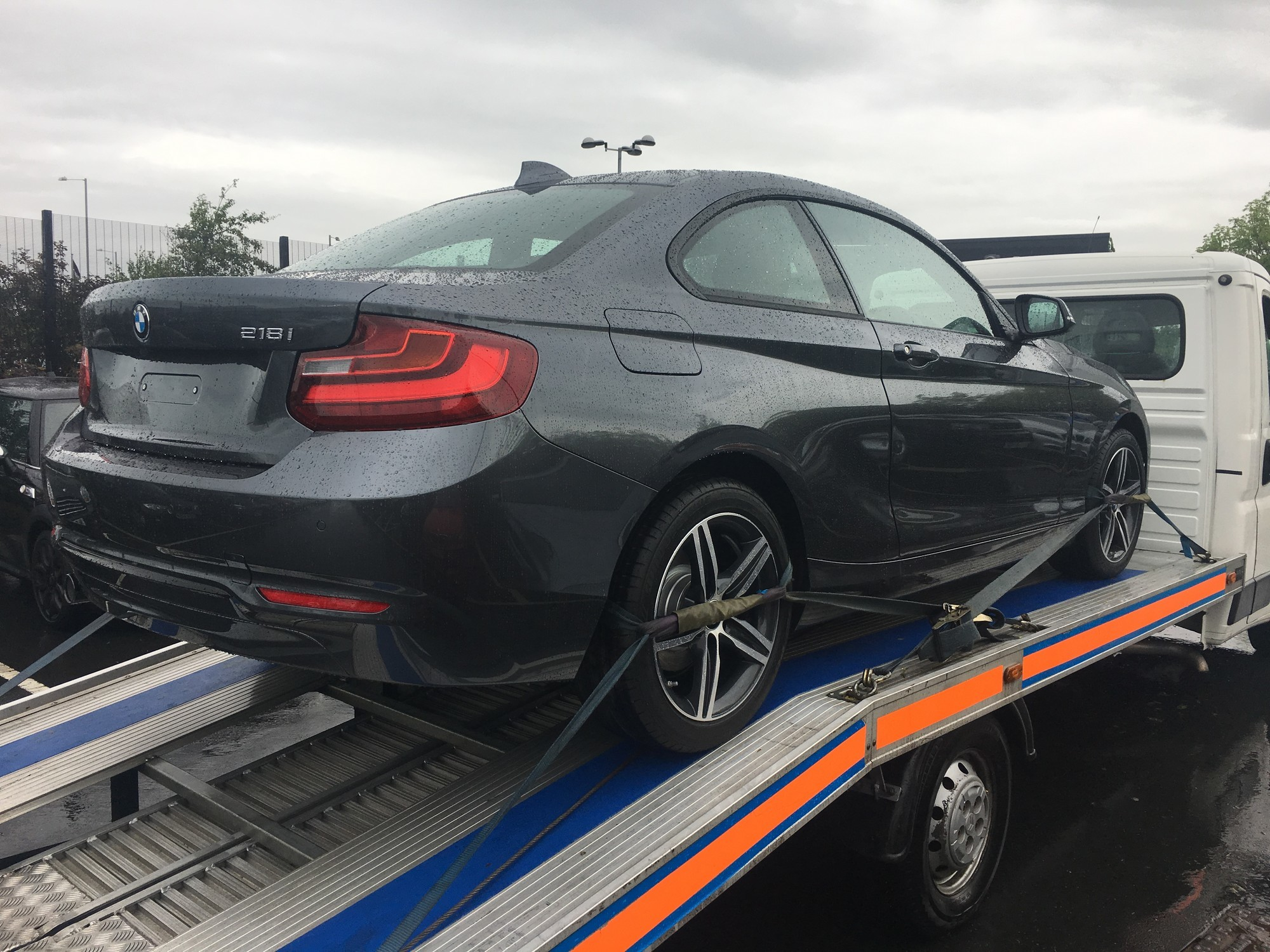 Brand New BMW 2 Series Transportation to Blackpool