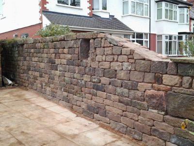 Stone Walls Maintenance. After