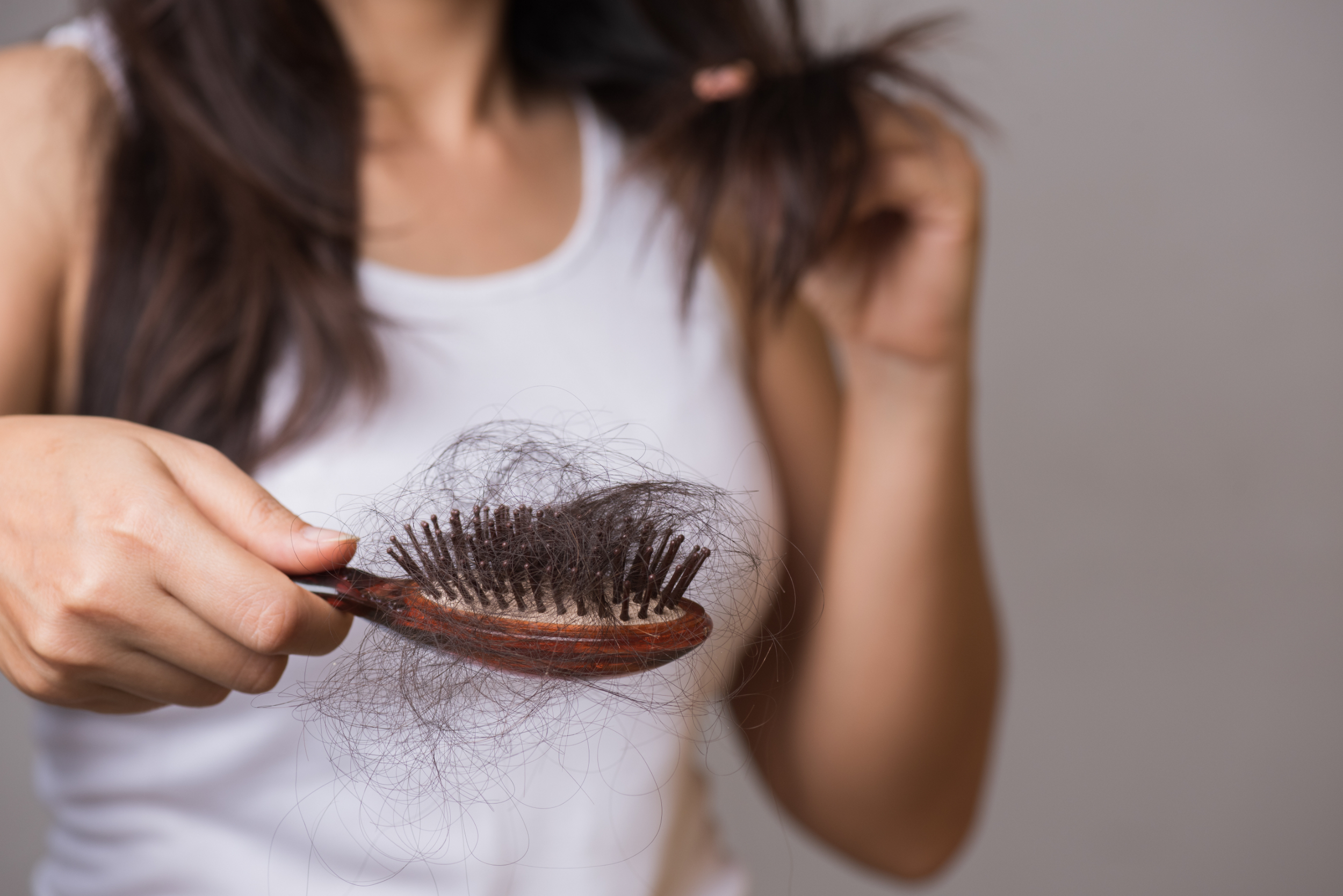 Hair loss with medical treatments