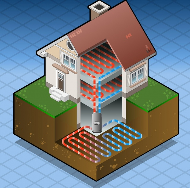 Geothermal Heat Pump : Ground source heat pumps in sevenoaks and tonbridge