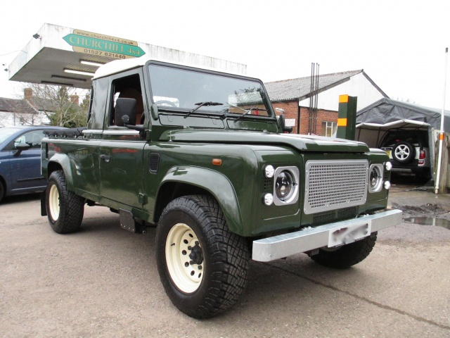 Land Rover Defender 110 Td5 King Cab   Churchill 4x4