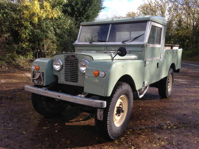 land rover series 1 restoration. Black Bedroom Furniture Sets. Home Design Ideas