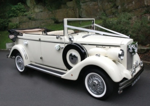 1930s Wedding Car Hire