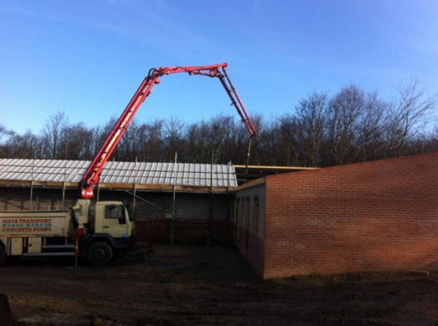 Leeds, Sheffield and West Yorkshire Concrete Pumping