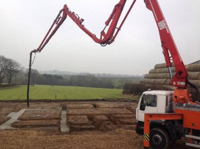Leeds, Sheffield and West Yorkshire Contract Hire Concrete Pumping