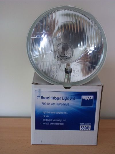 HALOGEN LAMP UNIT