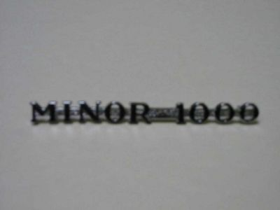 Minor1000 Side Badge