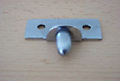 Chrome Door Peg