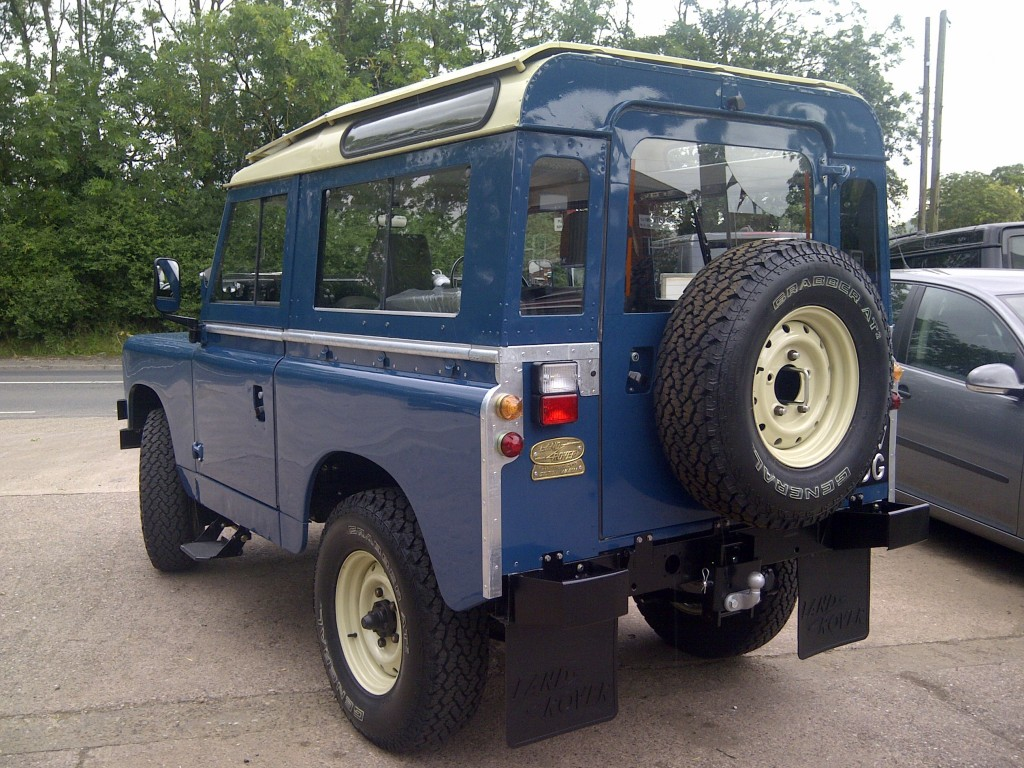 how to make a land rover defender more comfortable
