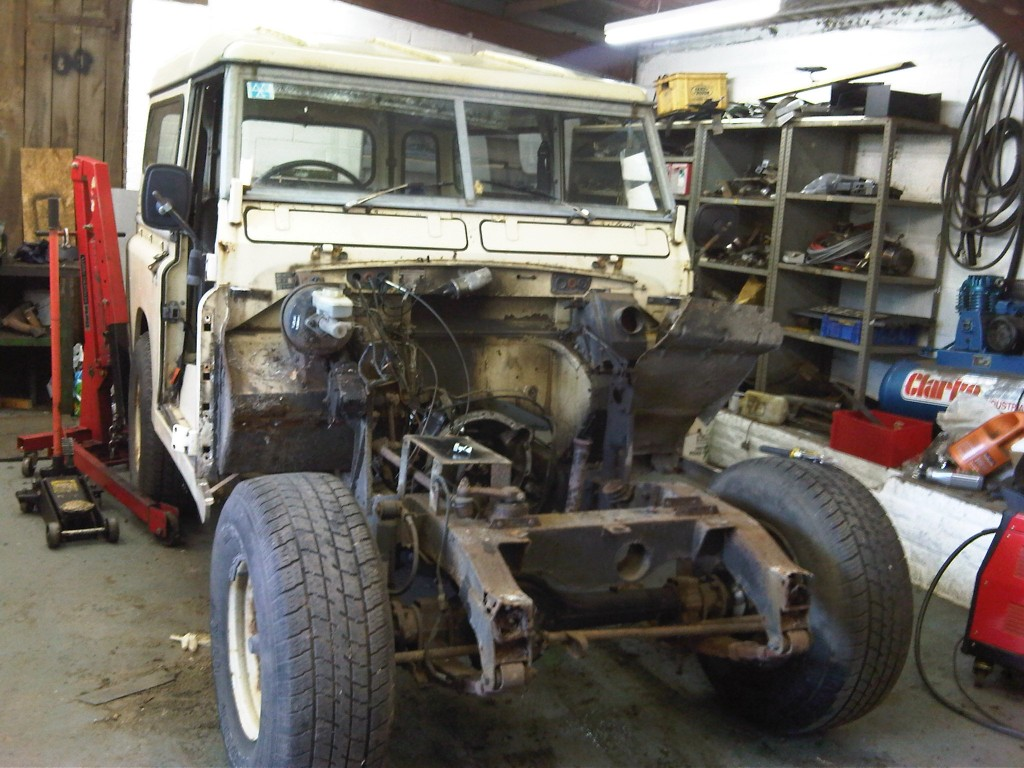 Restoration Of Land Rover Series 3 Swb 2 25 Petrol