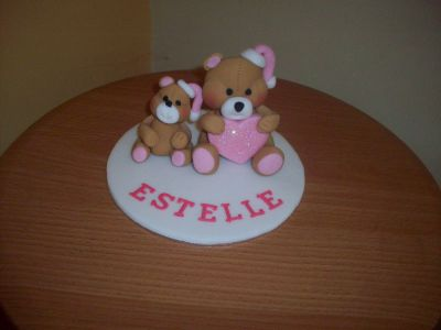Teddy Bears Cake Topper