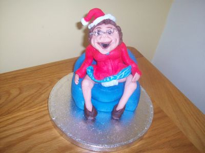 Mrs Browns Boys Christmas Cake Topper