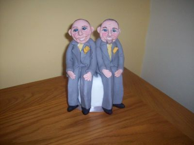 Civil Partners Wedding Cake Topper