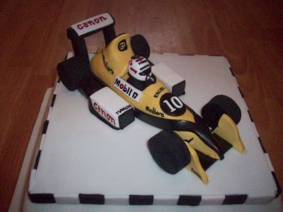 Racing Car Cake Topper