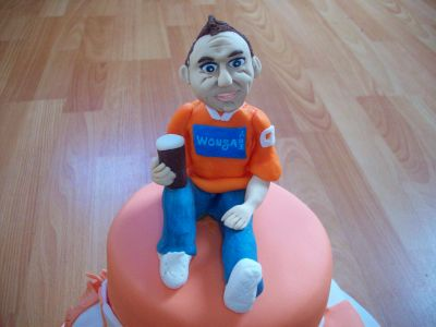 Blackpool FC Fan Cake Topper