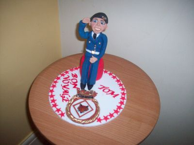 Army Soldier Cake Topper