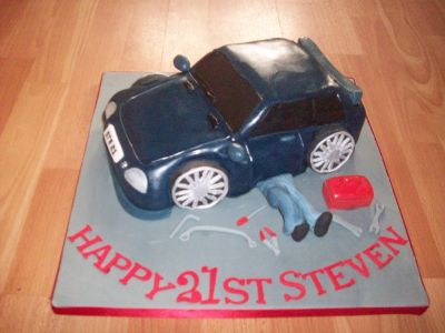 Car Mechanic Cake