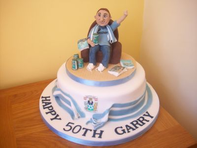 Coventry Football Fan Cake