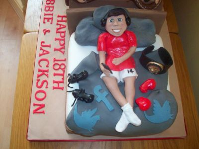 Cake for Music and Boxing Interests