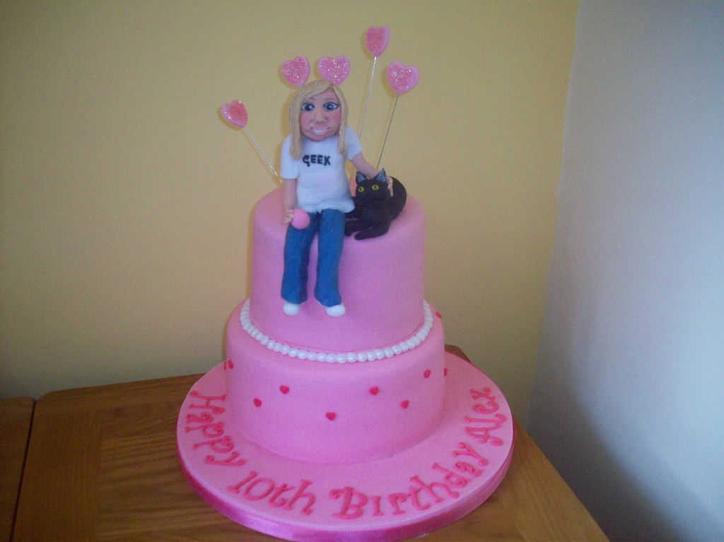 Girls Birthday and Ladies Novelty Cakes in Blackpool Sandies Cakes