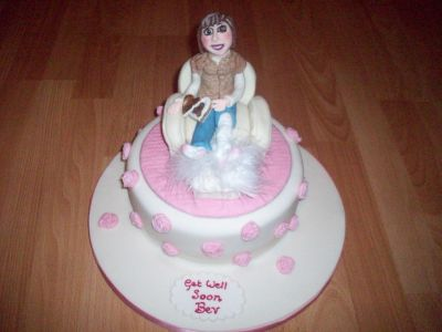 Get Well Ladies Cake