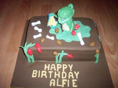 Rex Birthday Cake
